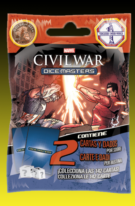 Marvel Dice Masters Sobre Civil war Español