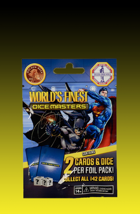 Dc Dice Masters Sobre World's finest Ingles